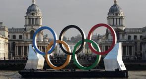 العلم الفلسطيني يرفرف في أولمبياد لندن