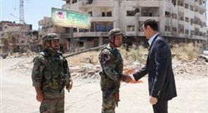الأسد: إنني واثق من الانتصار على المعارضة
