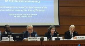 قراقع: خبراء قانونيون أجمعوا على ضرورة وضع الأسرى تحت ولاية القانون الدولي الإنساني