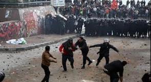 مصر..مقتل متظاهر ومحتجون يحرقون مركزا للشرطة تنديدا بزيارة كيري