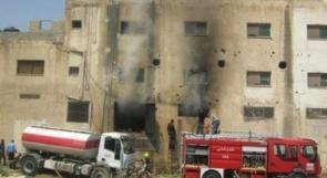 إصابة خطيرة بإنفجار داخل منزل في بلدة عناتا