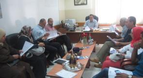 جامعة الاستقلال تشارك في تجهيز قاعات الثانوية العامة في أريحا