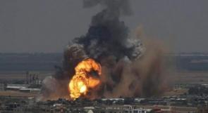 الاحتلال يقصف عدة مواقع للمقاومة في غزة