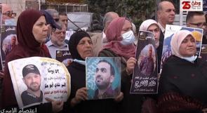 """أهالي الأسرى المضربين عن الطعام يطالبون عبر """"وطن"""" بمزيد من الضغط على الاحتلال للإفراج عن أبنائهم"""