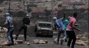 اصابة 5 شبان برصاص الاحتلال خلال قمع مسيرة كفر قدوم الاسبوعية