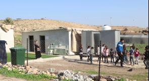 """ستقلل من معاناة الطلبة في تلقي تعليمهم... """"المالح"""" أول مدرسة في المضارب البدوية بالأغوار الشمالية"""