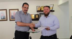 الفلسطينية لنقل الكهرباء توقع اتفاقية شراء للطاقة من محطة طاقة شمسية