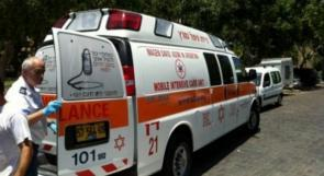 إصابتان بجروح خطيرة في انزلاق دراجة نارية بالجليل الأعلى