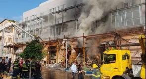 بالفيديو| مصرع سيدة وزوجها من الخليل في حريق بيافا