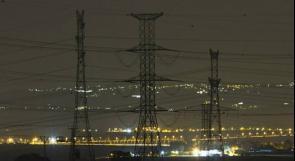 شركة الكهرباء الإسرائيلية ستبدأ بقطع التيار الكهربائي عن الضفة بدءاً من الغد