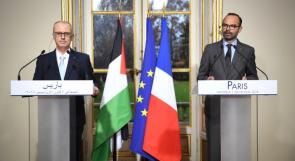 الحكومة الفلسطينية توقع 10 اتفاقيات مشتركة مع فرنسا