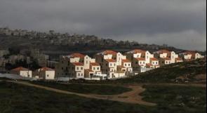 حكومة الاحتلال بصدد الموافقة على بناء 3100 وحدة استيطانية جديدة في الضفة