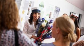 فيديو | الطالبة الفلسطينية ياسمين اليوسف تحصل على أعلى معدل في التوجيهي على مستوى الدنمارك
