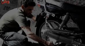 لا تحتاج إلى صيانة... عبد الله يبتكر إطارات مطاطية للدراجات النارية كبديل للمستورد