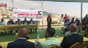 """صرخة من القدس إلى العالم... وطنيون يطلقون """"حراك من أجل فلسطين"""" بخمس لغات!"""