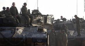 جيش الاحتلال يحشد قوات كبيرة حول غزة