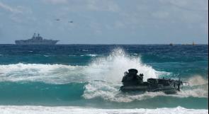 قتيل ومفقودن في حادث خلال تدريبات للبحرية الأمريكية