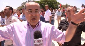 الطيبي لوطن: المطلوب عقوبات دولية على إسرائيل لمنعها من تنفيذ مخططاتها