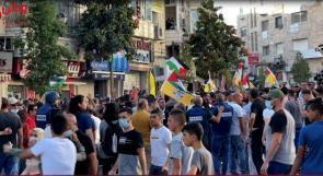 """وطن تتابع..مسيرات في رام الله.. فتح لـ""""وطن"""":نحن الأحرص على الوحدة الوطنية"""".. ونشطاء: """"تعرضنا للضرب والتنكيل"""""""