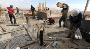 الإحصاء: ارتفاع مؤشر أسعار تكاليف البناء والطرق في آذار المنصرم