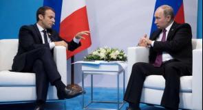 ماكرون: بوتين رئيس قوي لكن يجب ألا تكون ضعيفا معه
