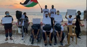 """تظاهرة في عكا المحتلة تطالب بالإفراج عن أسرى """"هبّة الكرامة"""""""