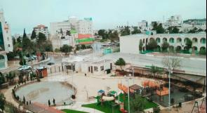 أمطار على مدينة رام الله