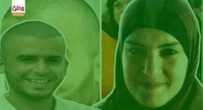 وجهان جميلان يصارعان بشاعة الاحتلال