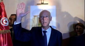 الرئيس التونسي لهنيّة: نضع كل الإمكانات التونسية تحت تصرف الأشقاء في فلسطين