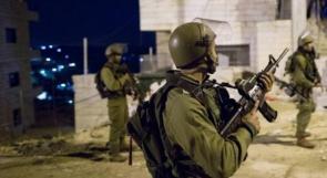 حملة اعتقالات بمناطق الضفة أوسعها في بير الباشا قضاء جنين