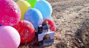 بالون يحمل عبوة ناسفة يسقط في قاعدة عسكرية إسرائيلية قرب غزة