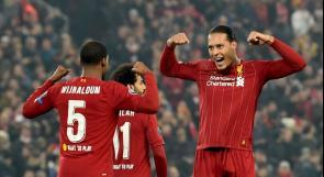ليفربول يخطف صدارة مجموعته في دوري أبطال أوروبا