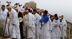 السامريون يحجون إلى جبل جرزيم
