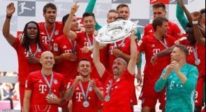للمرة السابعة.. بايرن ميونخ بطلا للدوري الالماني لكرة القدم