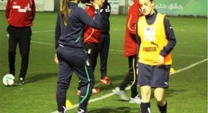 المنتخب النسوي يستعد للقاء نظيره الايطالي على استاد الخضر