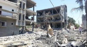 تدمير 282 وحدة سكنية في غزة نتيجة العدوان الصهيوني