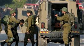الاحتلال يعتقل الطفل زيد بعجاوي من يعبد