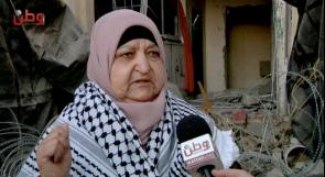 خنساء فلسطين لـوطن: غصبن عنهم البيت رح يضل شامخ