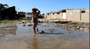 """خاص لـ""""وطن"""": بالفيديو.. خان يونس:""""نهر البارد"""".. بقايا حياة يكتسحها الفقر"""