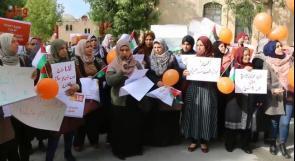 """نساء الخليل ينتصرن لحقوقهن في حملة """"الـ16 يوماً لمناهضة العنف ضد المرأة"""""""