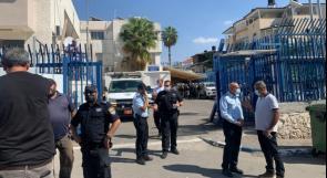 فلسطينيون يتظاهرون في كفرقاسم رفضًا لجولة استفزازية للمستوطنين بقيادة بن غفير