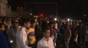 مقتل أكثر من 50 شخصا على الأقل بدهس قطار لحشد كبير من الناس في الهند