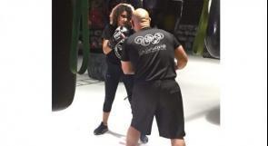زينة ابنة الثالثة عشرة.. اول ملاكمة فلسطينية انتزعت الرياضة من قالبها الذكوري