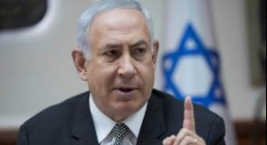 """نتنياهو: لن نقبل بأقل من """"وقف كامل للنار مع غزة"""
