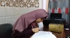 ترى الحياة بعيني أمها.. نرجس تتحدى إعاقتها البصرية بافتتاح مركز تعليمي في غزة