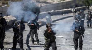 إصابة شاب بالرصاص الحي خلال مواجهات مع الاحتلال في دير نظام
