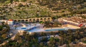 """خاص لـ """"وطن"""": بالفيديو... طولكرم: أول مدينة مائية فلسطينية في علار"""