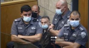 الناصرة: محكمة الاحتلال تنظر في تمديد اعتقال أسرى نفق الحرية