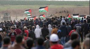 اصابات بالرصاص الحي على حدود غزة