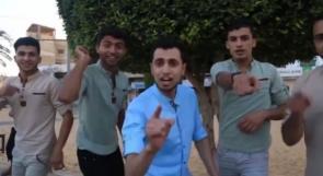 """خاص لـ""""وطن"""": بالفيديو.. شُراب من """"هاو"""" لفنان كوميدي يرسم الابتسامة على وجه غزة"""